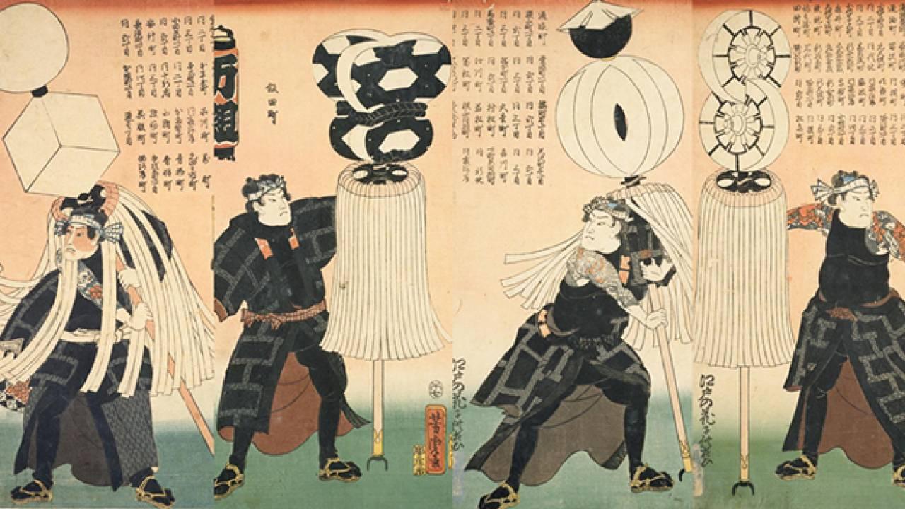 江戸時代のみんなのあこがれ「火消」。火消同士の縄張り争いや喧嘩もしばしば