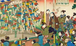 菊見、菊酒、菊人形…。江戸時代、秋の花と言えば江戸っ子好みの華やかな「菊」