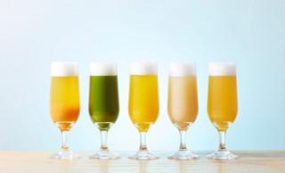 柿、抹茶、栗など5種類の和風ビールが楽しめちゃう 「和風ビールフェア」