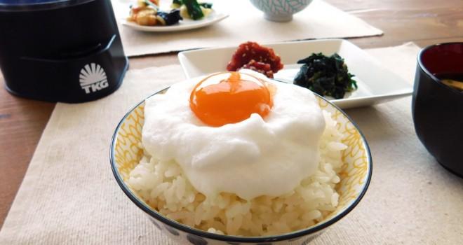 新・感・覚!まるで雲のようなふわふわ食感が卵かけご飯で楽しめるクッキングトイ「究極のTKG」