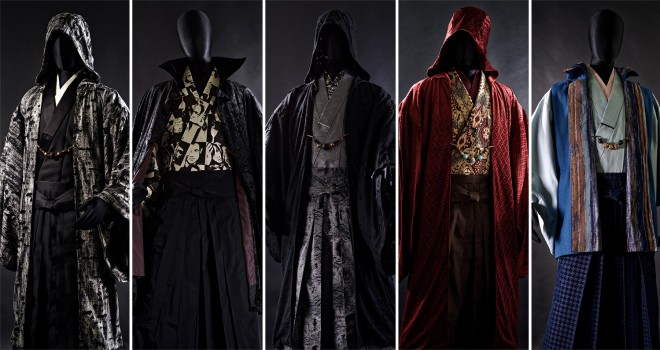 見よこのエッジの効き!男の着物「和次元 滴や」の2017年秋コレクションが発表