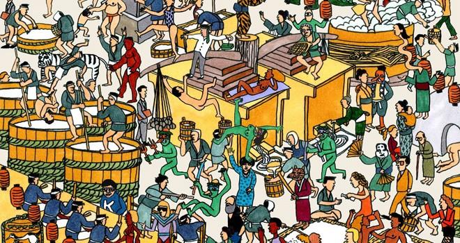 はい、酒呑みさん集合!31蔵元100種以上の日本酒を自由に飲み比べ「AOYAMA Sake flea vol7」開催