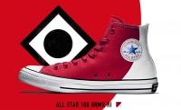 日の丸コンバース!日本国旗を大胆にデザインしたオールスター「ALL STAR 100 HNMR HI」登場