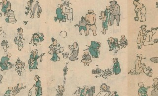 江戸時代後期の絵師・河村 文鳳「文鳳麁画(ぶんぽうそが)」