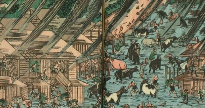 江戸が壊滅!?江戸時代に関東地方を襲った「安政3年の台風」の凄まじさ