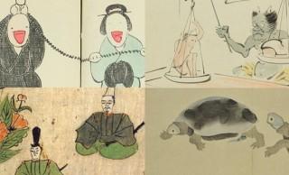 ユルいタッチで癒やされちゃう♪ユーモアに満ちた可愛すぎる日本画たちまとめ