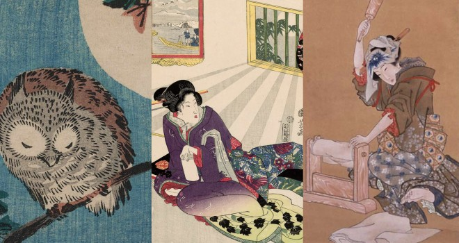 歌川国芳や広重など人気浮世絵師による、秋にぴったりな「月」の浮世絵名作選