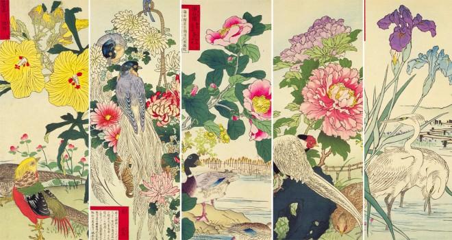 これぞ花鳥画のお手本!江戸〜明治期の日本画家・幸野楳嶺の「楳嶺花鳥画譜」が素敵