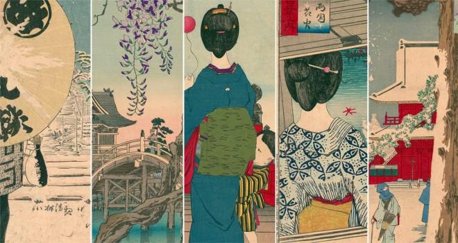 歌川広重ラブ!だった最後の浮世絵師・小林清親の「武蔵百景」が面白いくらい超広重