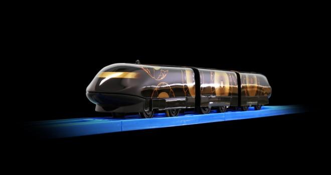 見よこのセクシーなフォルム!鉄道玩具プラレールで「漆塗り」の車両が完成
