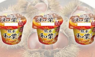 甘栗を思わせる香ばしく甘いフレーバー♪期間限定「熊本和栗プリン」を食べてみた