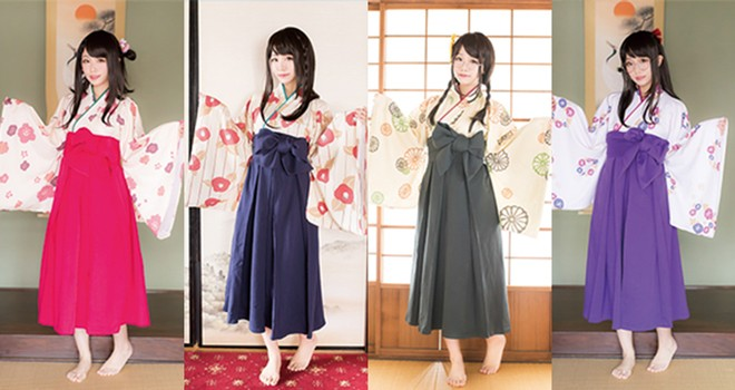 妄想を商品化!花柄4種類が揃った和風ルームウェア「ゆる袴」が可愛い♡