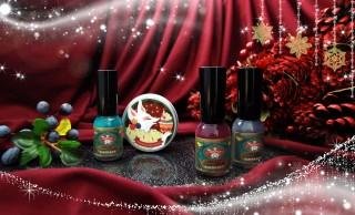 ステキカラー!日本画の絵具・胡粉が原材料の「胡粉ネイル」に2017年クリスマス限定セット登場