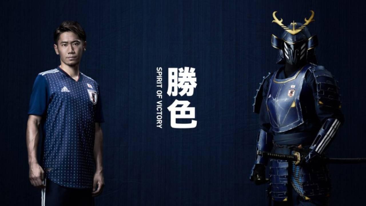 武将たちが戦いで纏った勝色モチーフ!そして刺し子!サッカー日本代表 新ユニフォーム発表