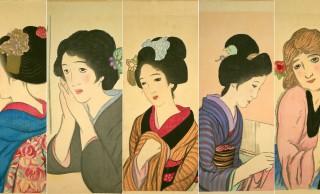 情緒溢れる着物姿も注目!大正ロマン・竹久夢二の代表作  「女十題」を全作ご紹介