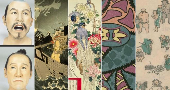 2017年にJapaaanで紹介した浮世絵、日本画、古文書などの作品ギャラリーまとめ