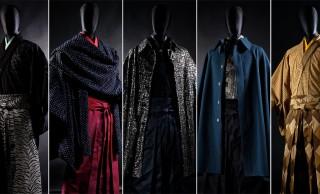 圧倒的な存・在・感!総スパンコールのマントなど、男の着物「和次元 滴や」の新作が凄まじい