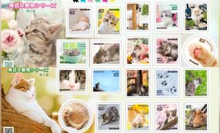これは反則レベル!可愛すぎる猫ちゃんたちの胸キュン切手を日本郵便が発表