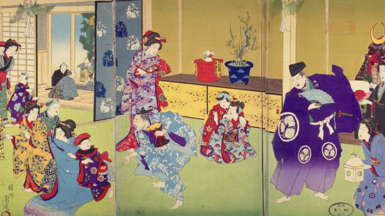 まさに奇祭な強飯式?新しくって面白い江戸時代のお正月の風景パート2