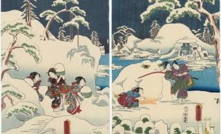 雪の日、お江戸の人はどうしてた?浮世絵で江戸時代にタイムトリップ:パート1