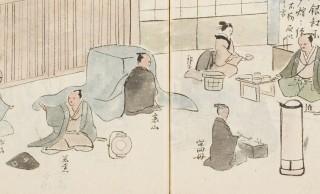 呑んでばっかwww 江戸時代の下級武士のリアルな暮らしを記した貴重な絵日記「石城日記」