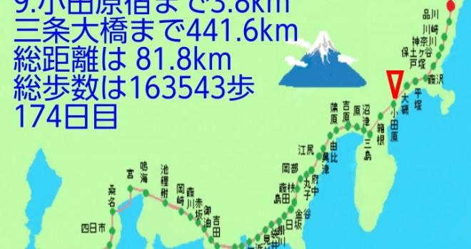 ウォーキングしながら東海道を制覇!万歩計アプリ「歩け東海道」をレビュー