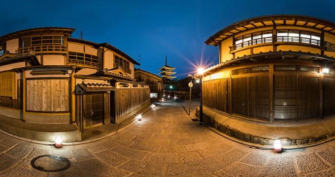 VRで京都をぐいんぐいん!超高画質な360°パノラマで京都を楽しめる「京都VRツアー」