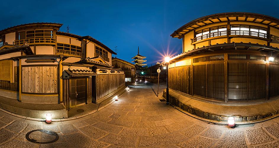 Vrで京都をぐいんぐいん 超高画質な360 パノラマで京都を楽しめる 京都vrツアー 京都府 観光 地域 Japaaan