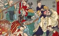 地獄も骸骨もドタバタ!文明開化を揶揄する明治時代の強烈な風刺画たち