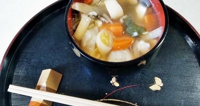 江戸時代グルメ雑学(12)寒い日の味方けんちん汁は材料を粗末にしないエコ料理