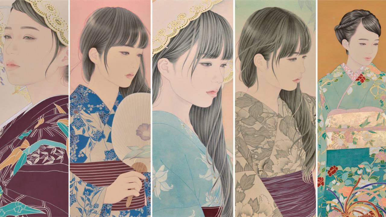 深く心に刻まれる程に美しい美人画の数々、宮﨑優さんの作品がステキ!