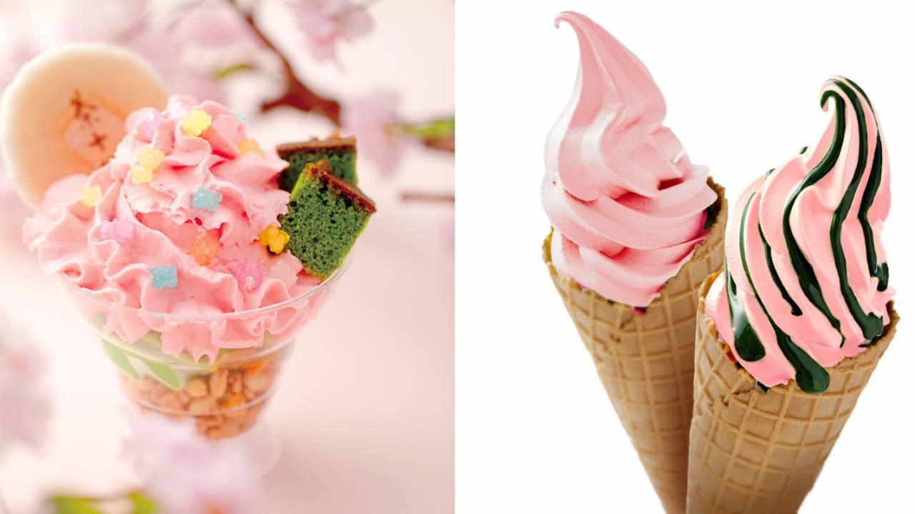 鮮やかな春色が映える!祇園辻利から春限定・店舗限定の春色スイーツ登場