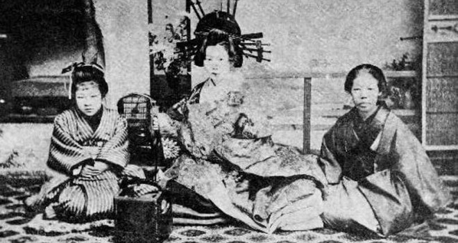こんなにいた!遣り手、若い衆…吉原遊廓の妓楼(女郎屋)の中に暮らす人々