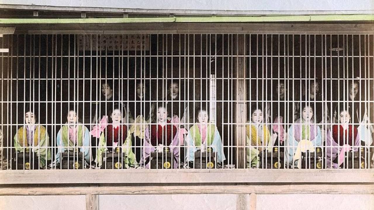 江戸時代の吉原遊廓の妓楼の中はどうなってたの?浮世絵や絵草紙で詳しく紹介!