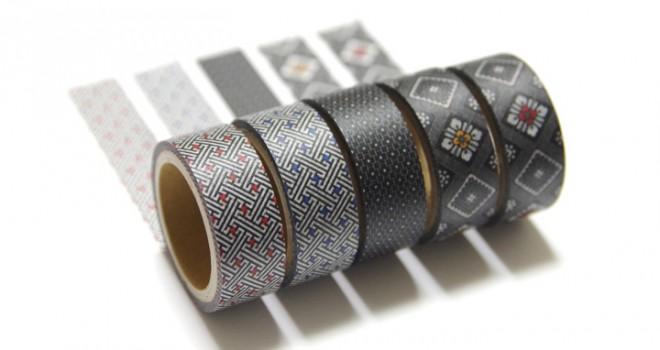 これはステキ!本場大島紬の伝統柄をマスキングテープにした「紬Classicマスキングテープ」