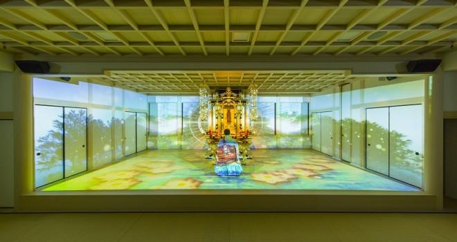 やっべぇぞ!お寺の本堂で「地獄と極楽浄土」をテーマにしたプロジェクションマッピングの未来感よ