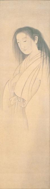 円山応挙「幽霊図」