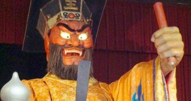 閻魔大王の顔が赤いのは何故?怒ってる…だけではなく実は自分も苦しめられているから