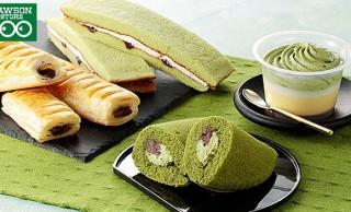 抹茶を使ったデザートや菓子パン、和菓子が大集合!ローソンストア100「抹茶フェア」