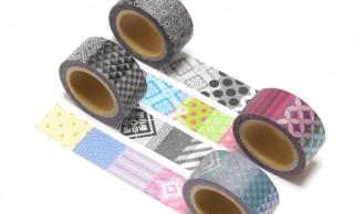 あの大島紬なマステ「紬Classicマスキングテープ」に伝統和柄とのミックスデザインが新登場!