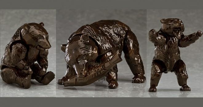 何作ってんすか(笑)北海道みやげ「木彫りの熊」がなんと可動式フィギュアで発売