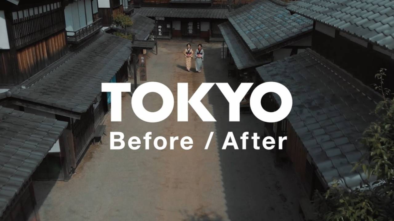 シンクロする過去と現代!江戸と東京の文化・美意識の共通点や違いを動画で紹介「TOKYO Before/After」
