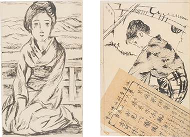 出帆』原画 昭和2(1927)年 千...