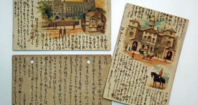 「僕ハ独リボツチデ淋イヨ」古書店で夏目漱石の自筆の絵はがきが約100年ぶりに発見!一般展示へ