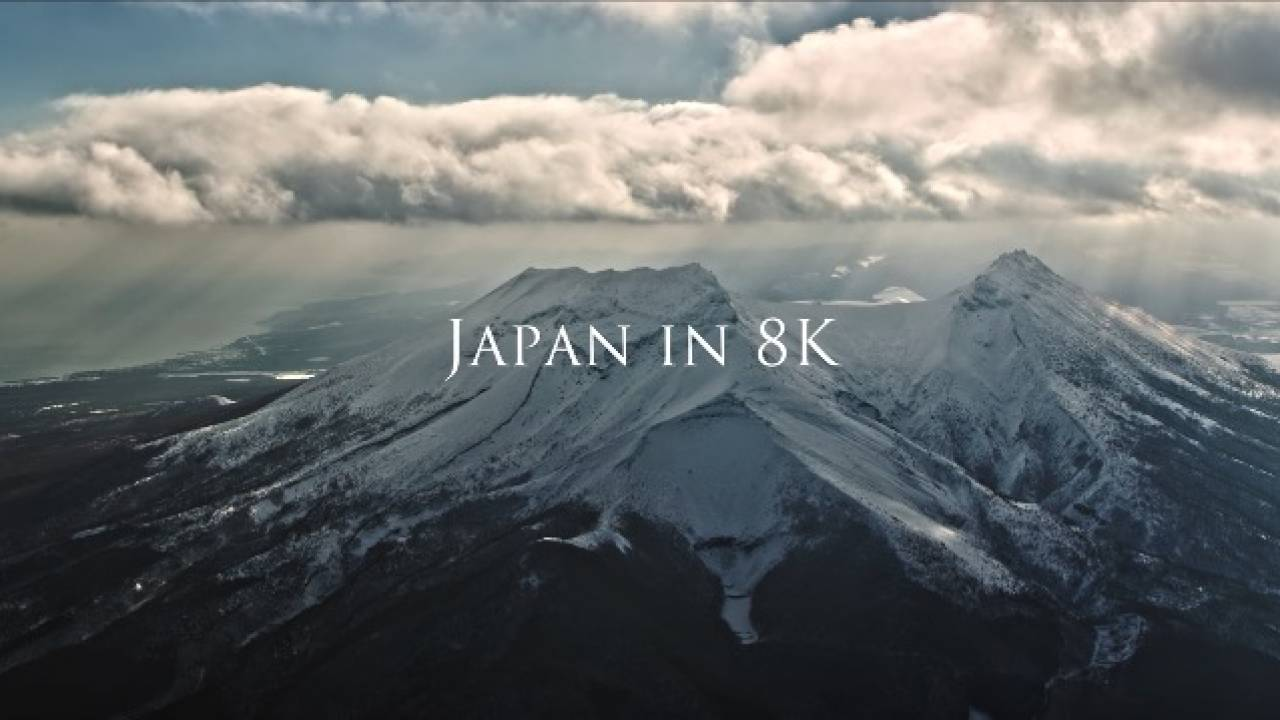心持ってかれる!日本各地の美しい風景を8K映像でまとめた必見の動画「Japan in 8K」