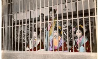 江戸時代の吉原遊廓の幼い少女たち「禿(かむろ)」が一人前に女郎デビューするまで