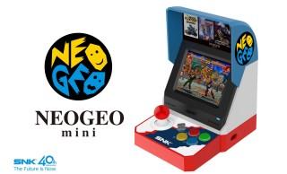 NEOGEO mini 発表!90年代の懐かしのゲーム機「NEOGEO」が手のひらサイズで復活