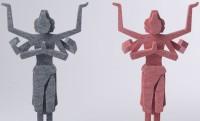 フェルト仏像という斬新さ!阿修羅像をフェルト生地で組み立てる「フェルト ZEN 阿修羅」爆誕