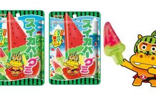 スイカ果汁も配合!夏の定番アイス「スイカバー」がグミになっちゃったよ!