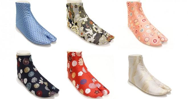 究極の柄足袋誕生!福助が西陣織の生地を使用した足袋「西陣織足袋」発売